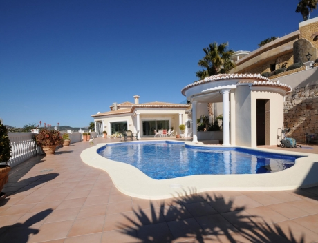 MORA253: Exclusive luxury villa with fantastic sea views for sale, Moraira - Main