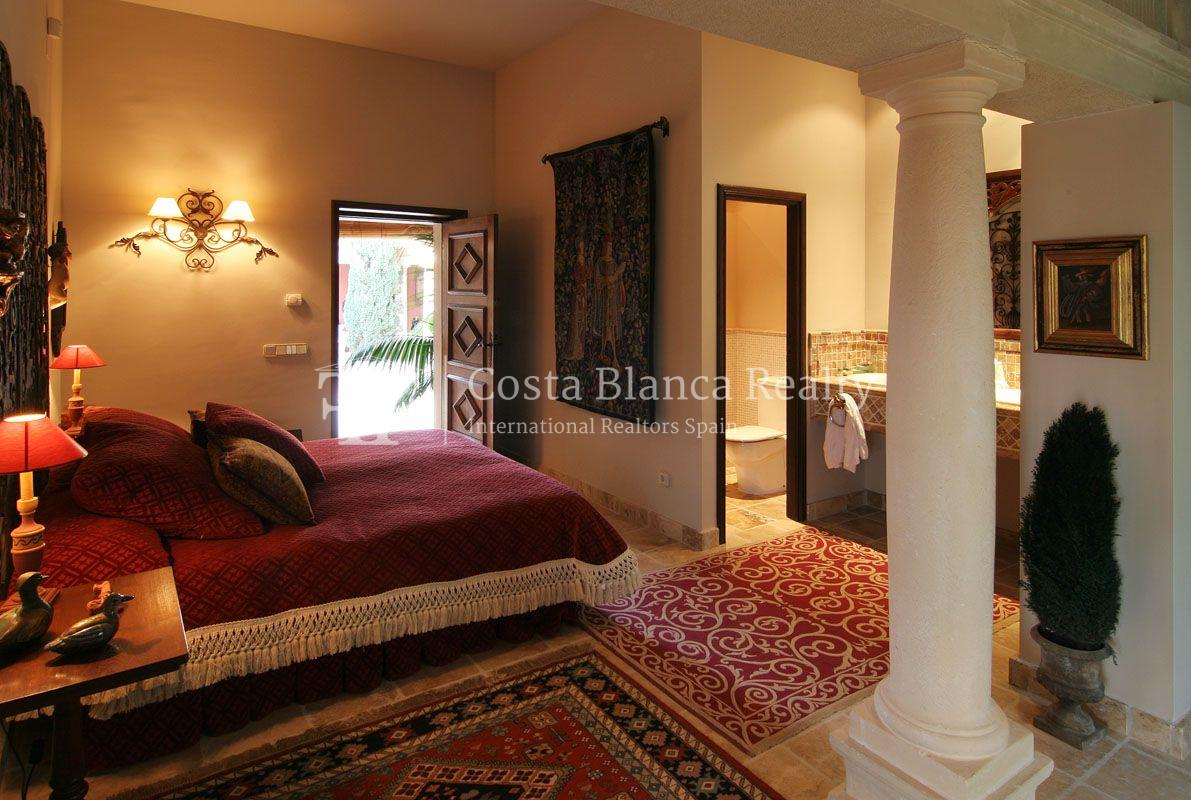 Beautiful villa in Roman style in Altea for sale, Sierra de Altea Golf - 19 - JOFi234