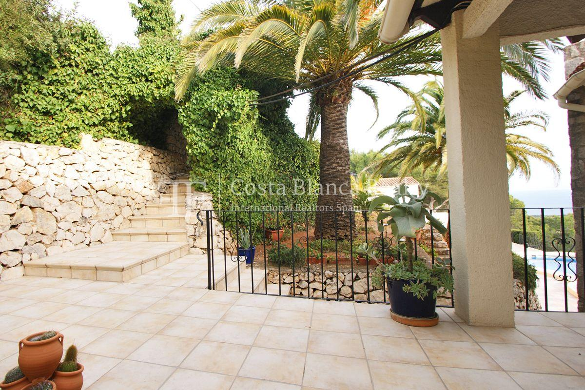 Villa for sale in Benissa with panoramic sea views on a large plot - 31 - CHFi655