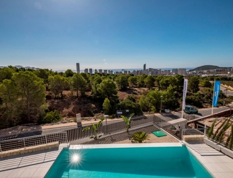 CHFi342: Modern stylish new built villa in a gated community with sea views, Sierra Cortina - Main