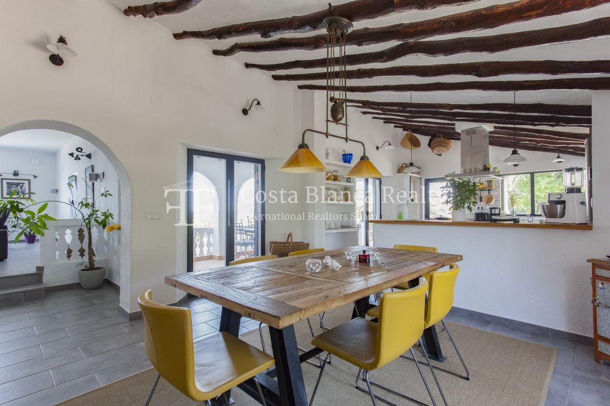 ++SOLD BY COSTABLANCA-REALTY.COM++ Villa for sale in San Chuchim in Ibiza style with panoramic sea views, Altea / Old Town - 10 - CHFi704