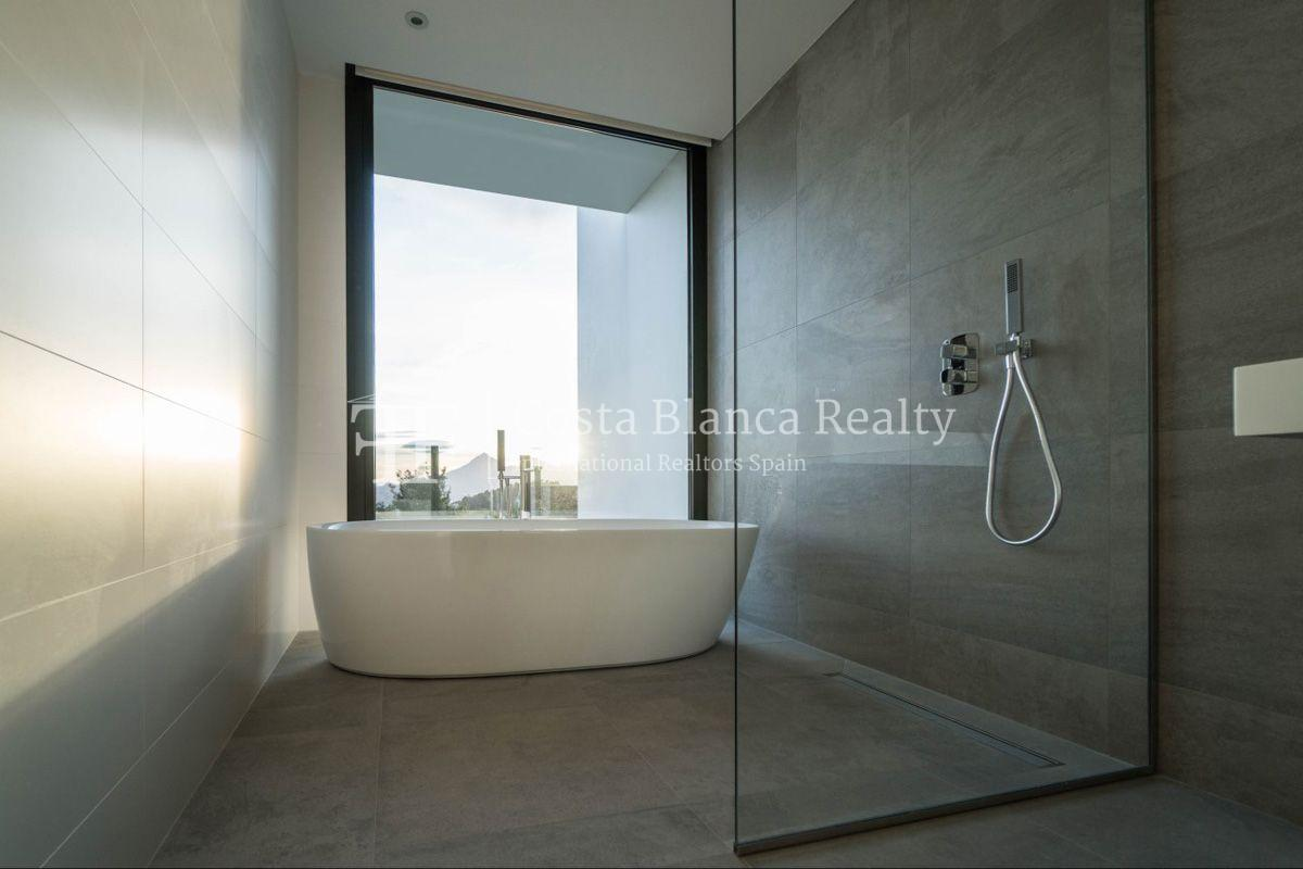 New luxury villa with exceptional sea view, Altea Hills - 16 - CHFi472