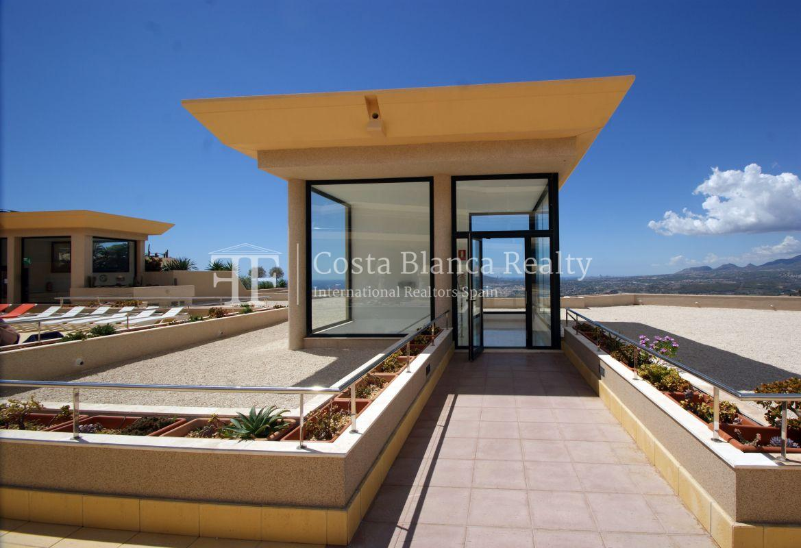 Duplex Penthouse Apartment for sale with great sea views in Altea, Villa Marina Golf - 42 - CHFi653