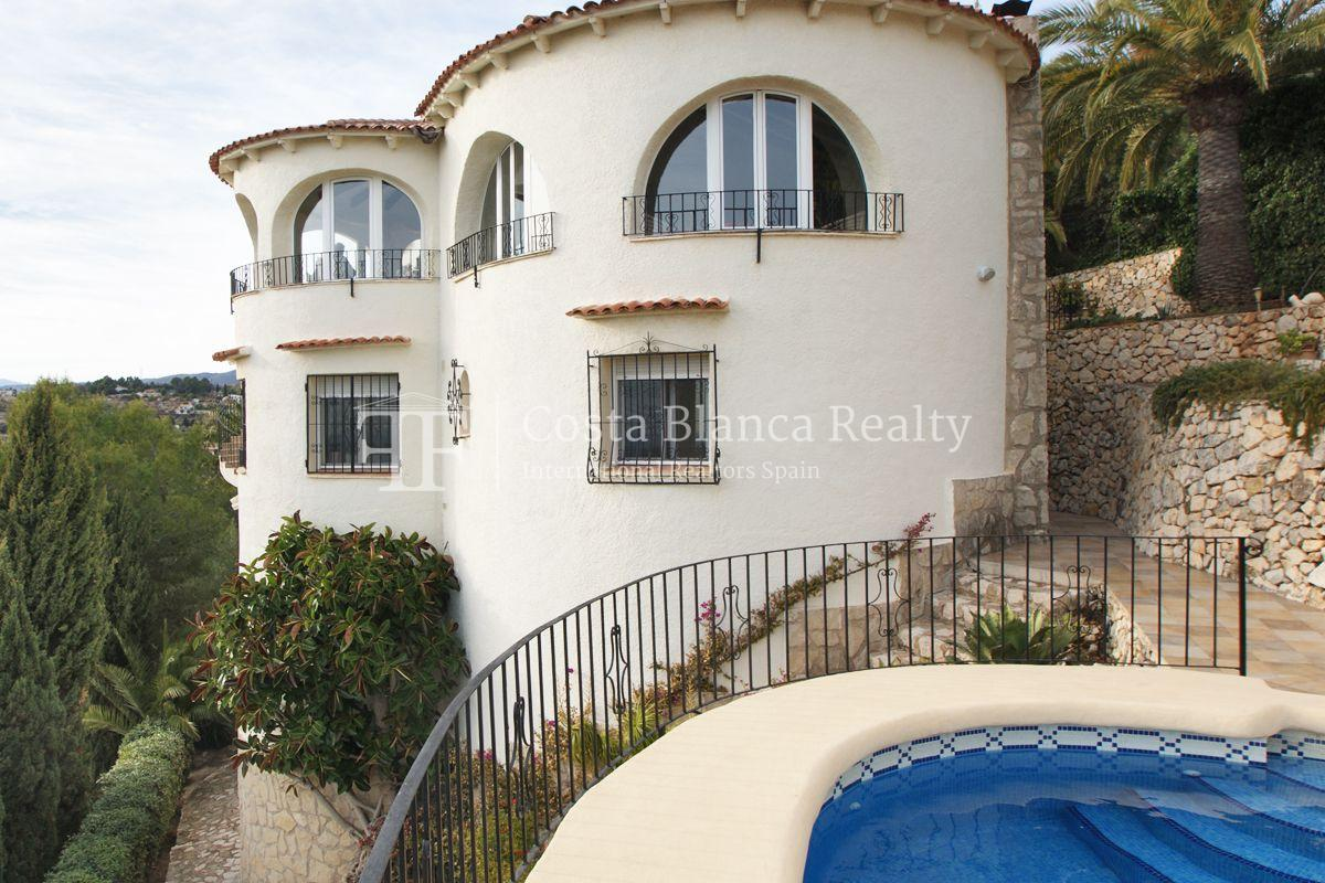 Villa for sale in Benissa with panoramic sea views on a large plot - 36 - CHFi655