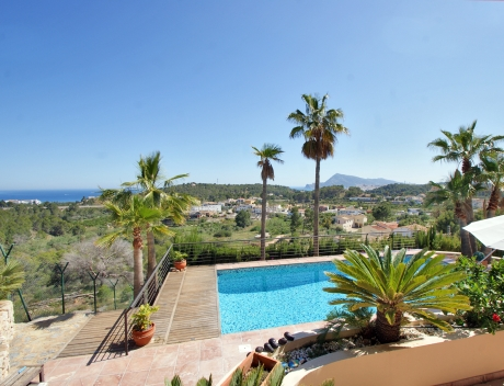 CHFi814: Luxury villa with sea views in the Sierra de Altea for sale - Main