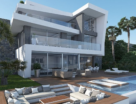 CHFi542: Spectacular located new build luxury Villa at first Sea Line, Javea   - Main
