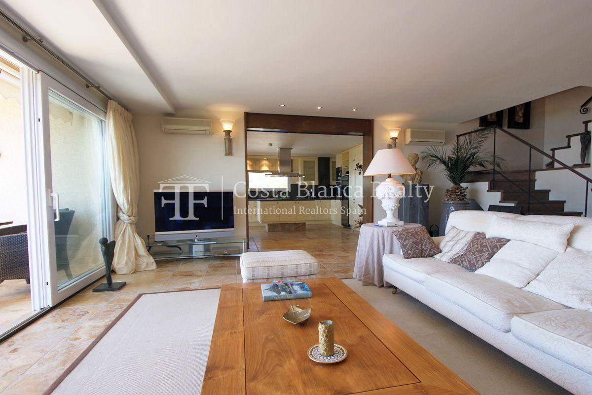 Duplex Penthouse Apartment for sale with great sea views in Altea, Villa Marina Golf - 3 - CHFi653