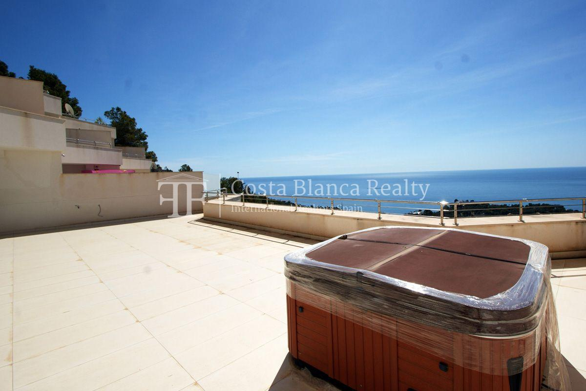 Modern apartment with great terrace and panoramic sea views, Altea - 13 - CHFi439
