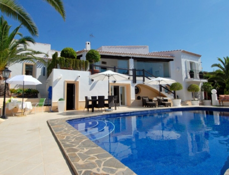 MORA287: Exquisite villa a few meters from the sea and golf course, San Jaime - Main
