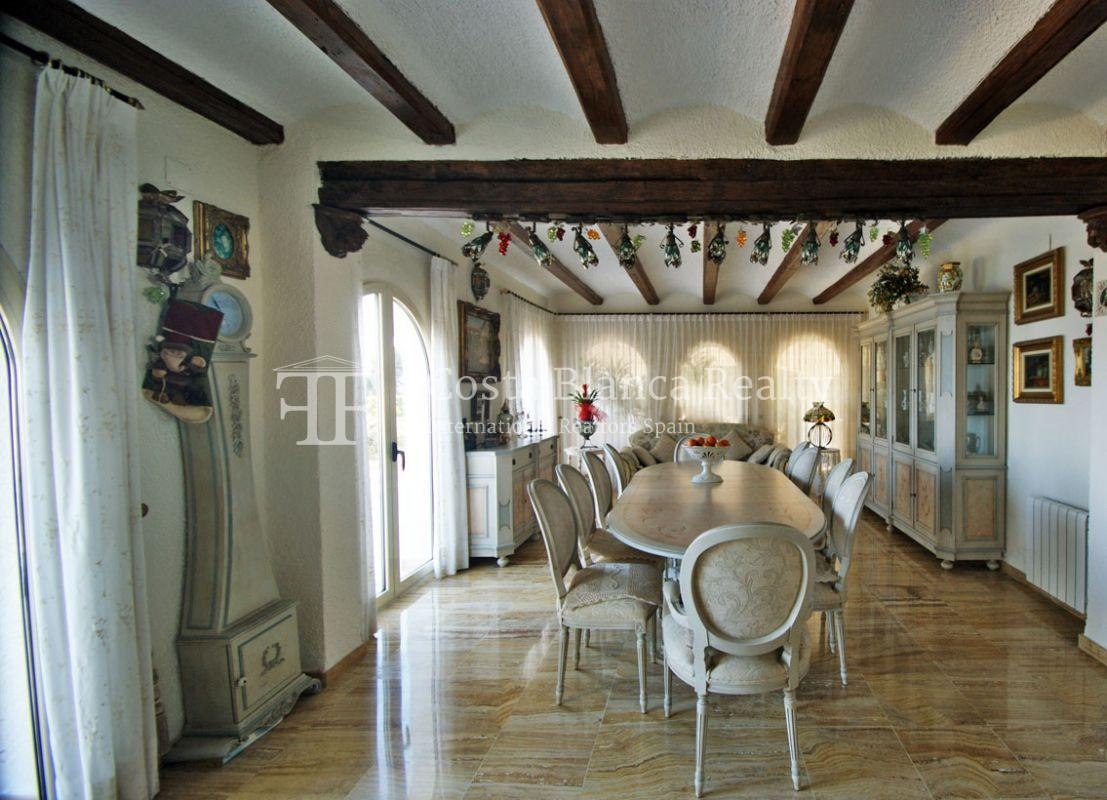 Great house with panoramic sea views for sale, Altea, Mascarat - 9 -  CHFi488