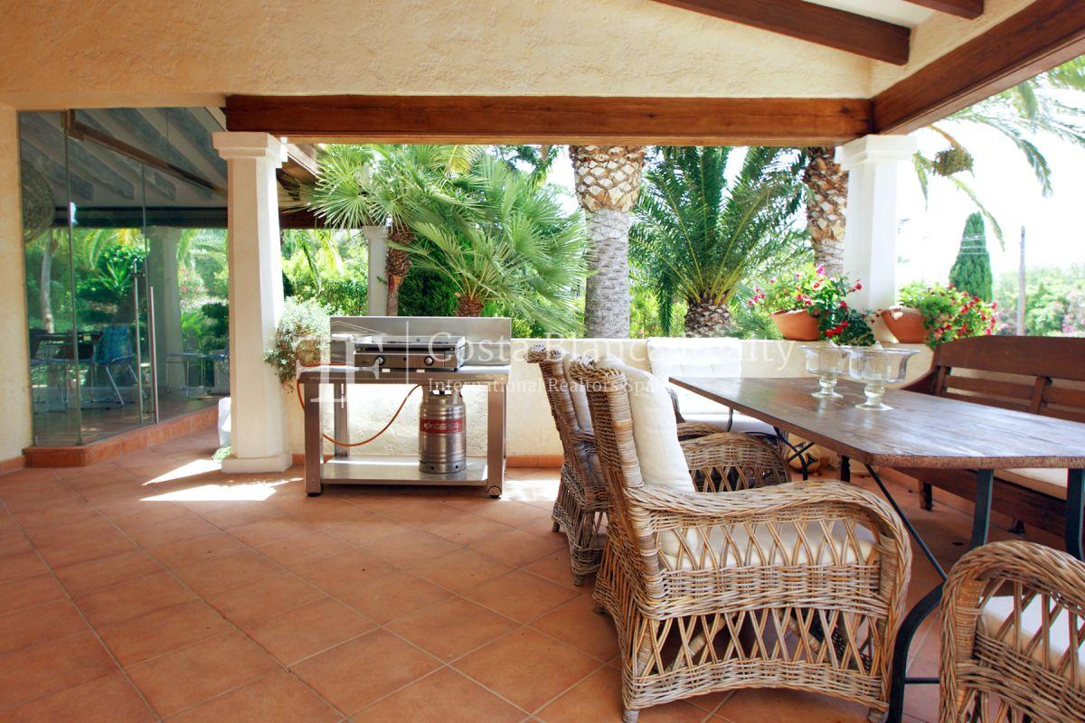 Magnificent luxury villa with extra building plot in the Sierra de Altea for sale - 32 - CHFi826