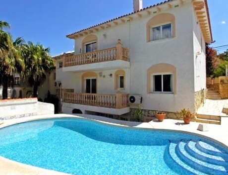 FPAS111: Nice house with swimming pool in central location in La Nucia - Main