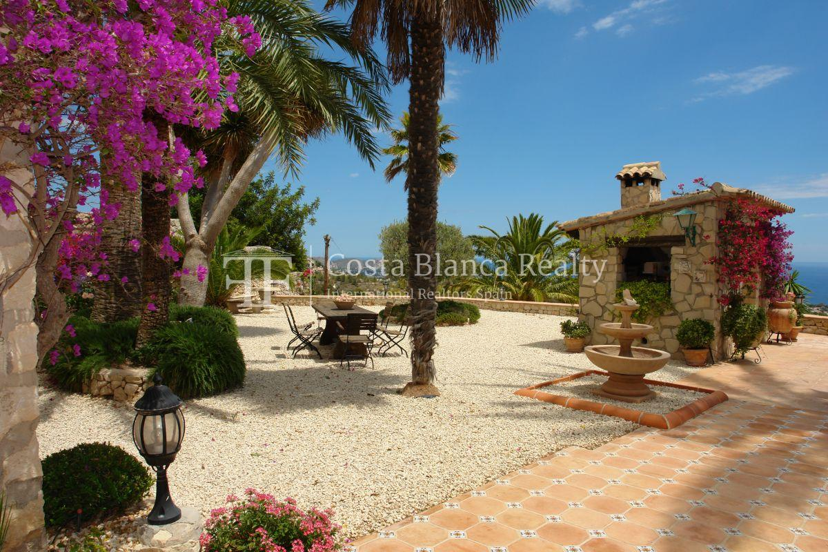 Great modern finca with panoramic sea views in Benissa - 54 - CHFi501