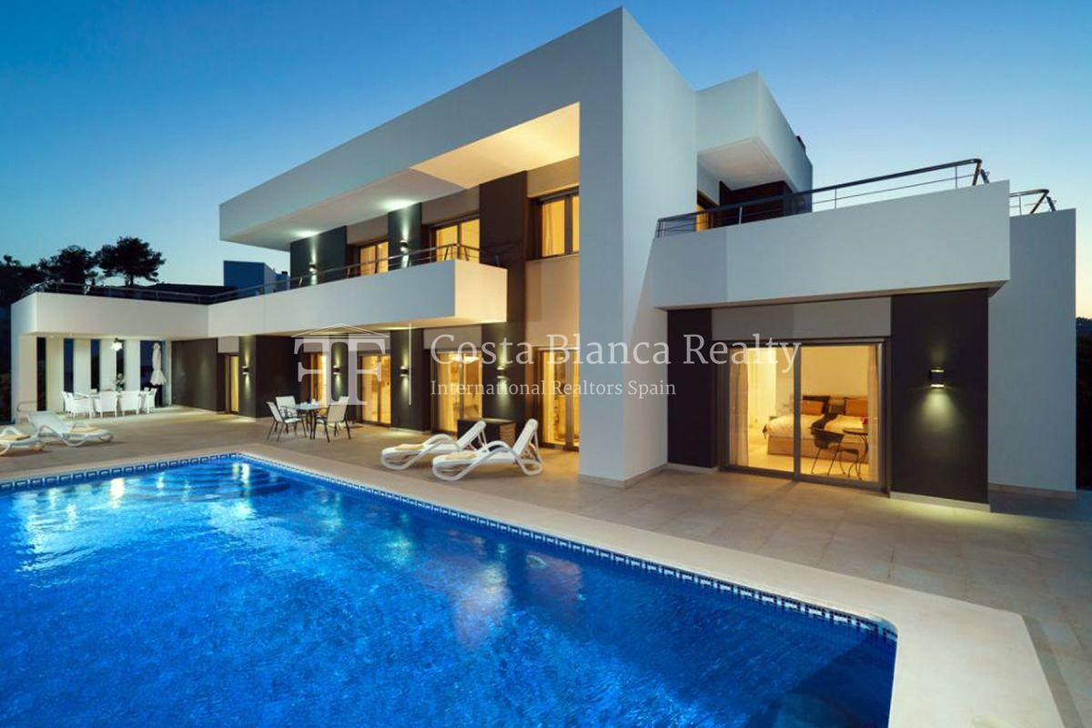 Modern Villa built in 2013 with Seaviews in Solpark, Moraira, Spain - 1 - CHFi458