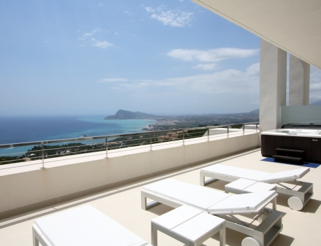 CHFi838: Luxury penthouse apartment Altea Hills for sale - Main