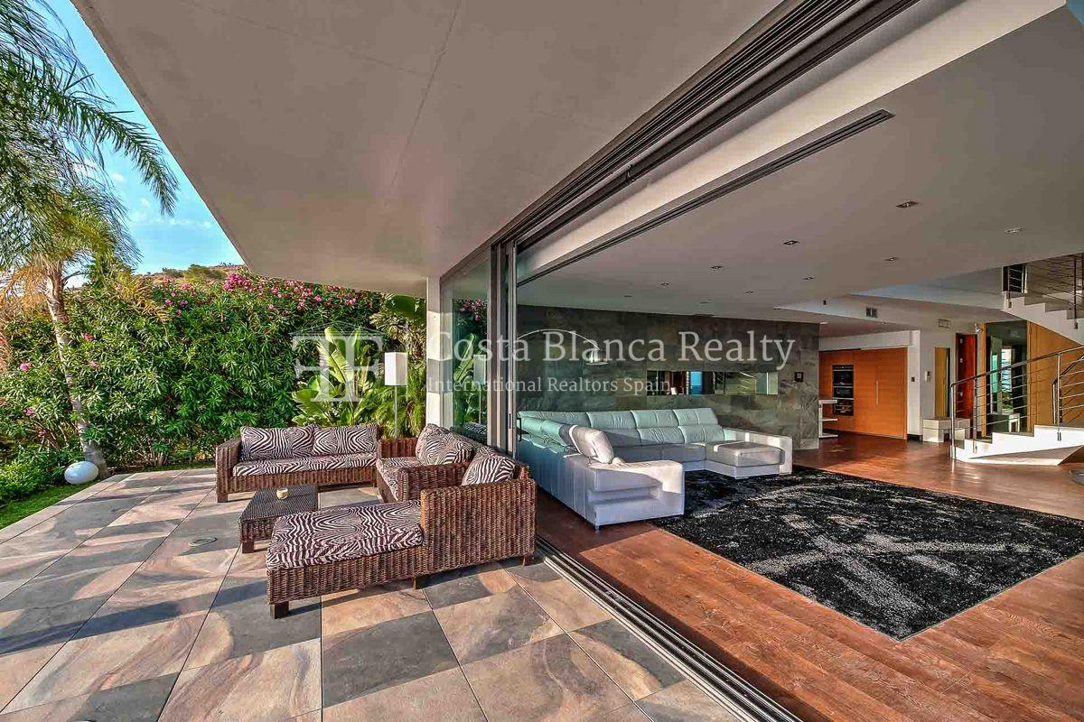 Modern designer villa with panoramic sea views, Benidorm - 4 - CHFi162