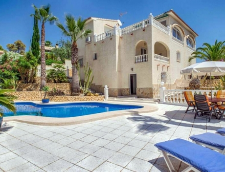 FPAS101: Beautiful house with large garden for sale, Bello Horizonte, La Nucia - Main