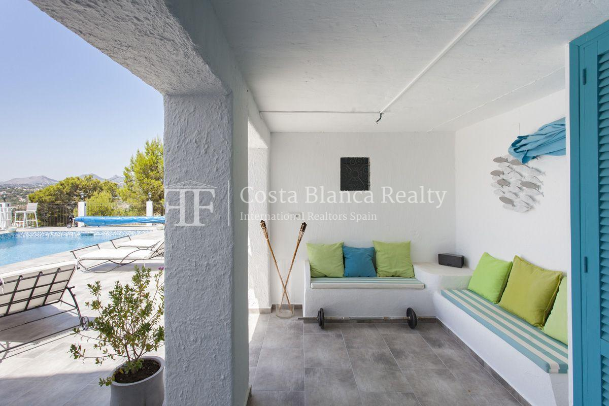 ++SOLD BY COSTABLANCA-REALTY.COM++ Villa for sale in San Chuchim in Ibiza style with panoramic sea views, Altea / Old Town - 43 - CHFi704