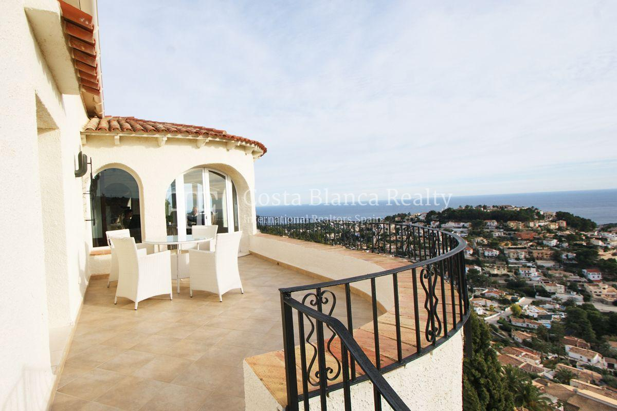 Villa for sale in Benissa with panoramic sea views on a large plot - 29 - CHFi655