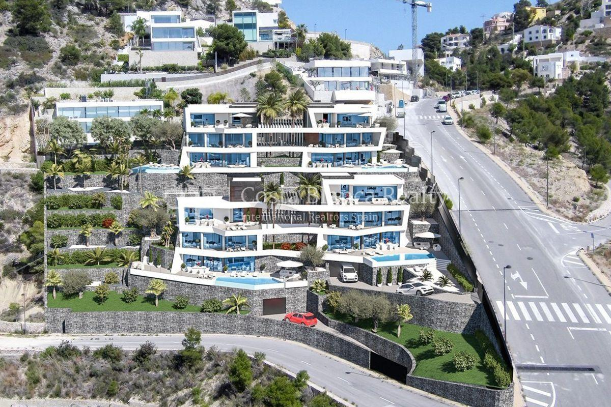 Modern villa for sale with stunning sea views in Altea - 5 - CHFi842
