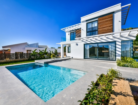 CHFi845: Modern villa with sea views in the Sierra Cortina for sale - Main