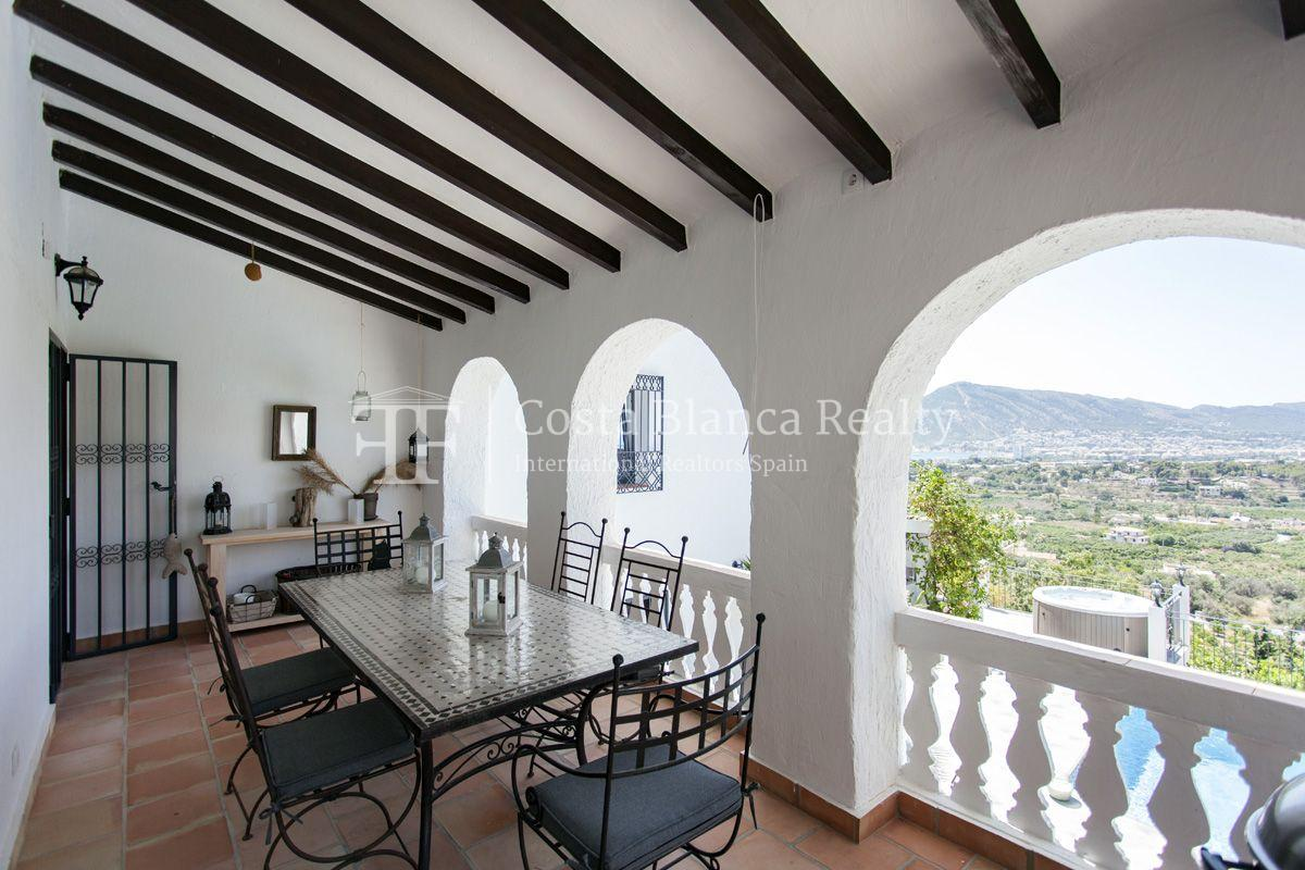 ++SOLD BY COSTABLANCA-REALTY.COM++ Villa for sale in San Chuchim in Ibiza style with panoramic sea views, Altea / Old Town - 52 - CHFi704