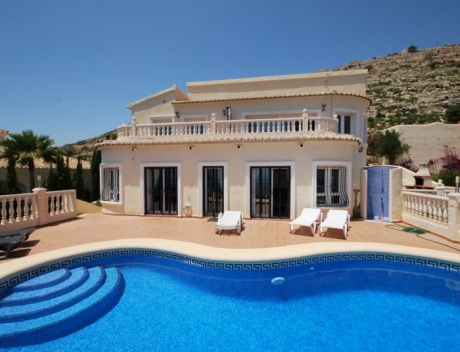 MORA356: Nice house with panoramic sea views, Moraira, Cumbre del Sol - Main