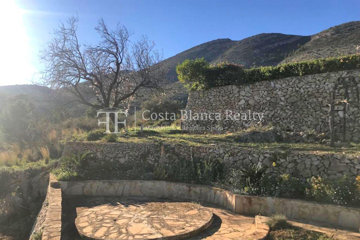Wonderful finca with great panoramic sea views in Benissa - 11 - CHFi865