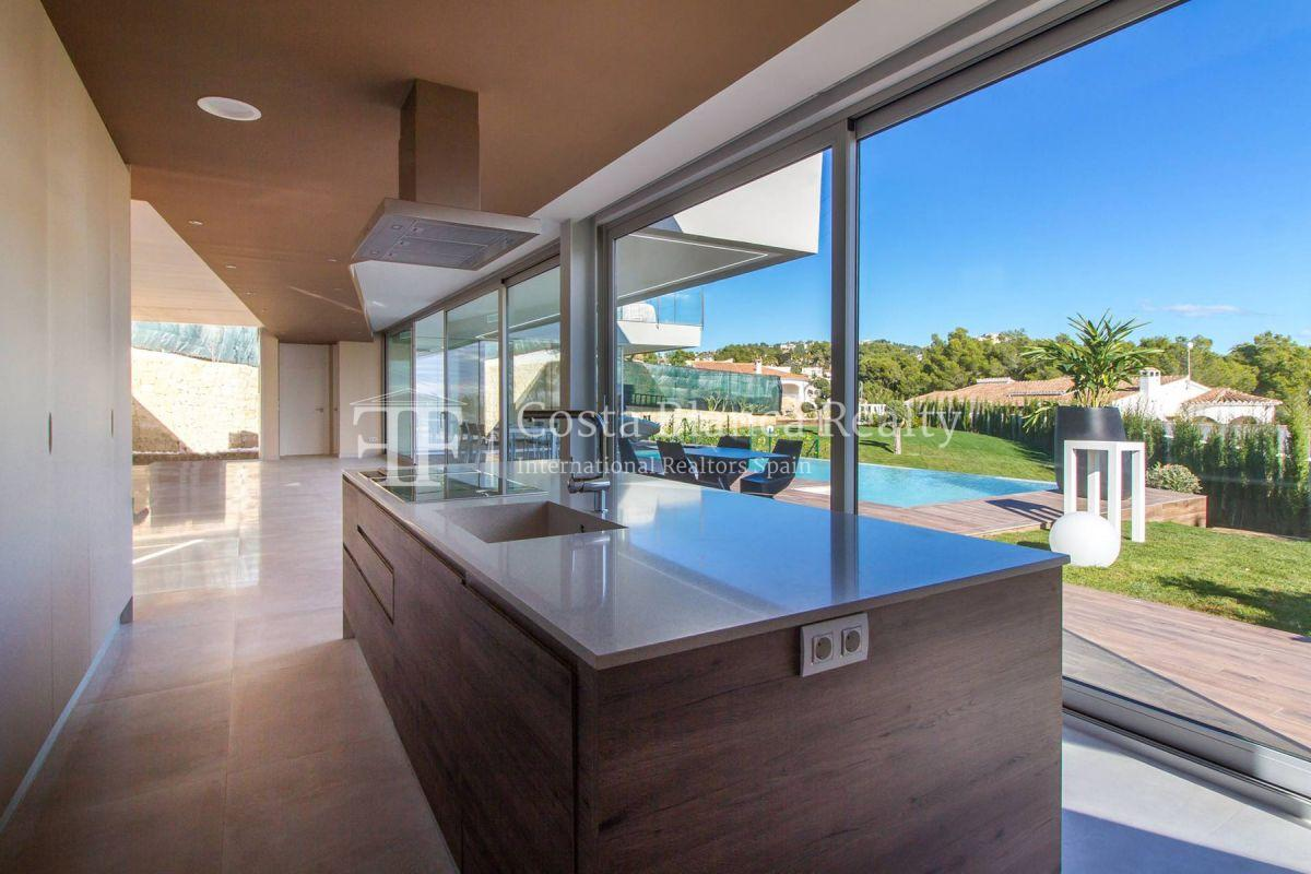 Modern villa in Benissa with sea views for sale, new building - 6 - CHFi788