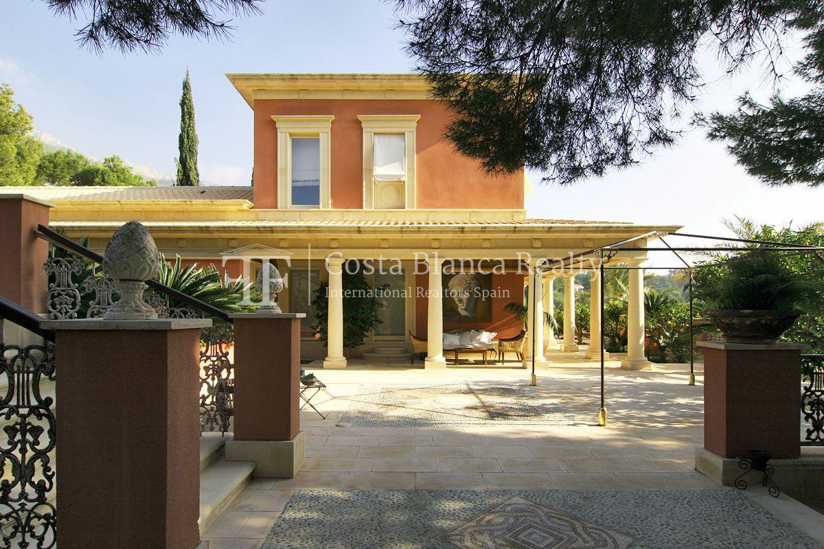 Beautiful villa in Roman style in Altea for sale, Sierra de Altea Golf - 36 - JOFi234