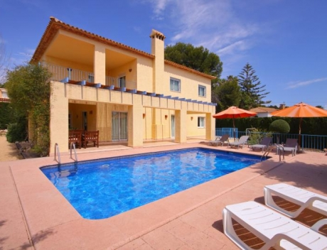 TOMO109: Very cozy villa in second sea line with beautiful views, Calpe, Calalga - Main