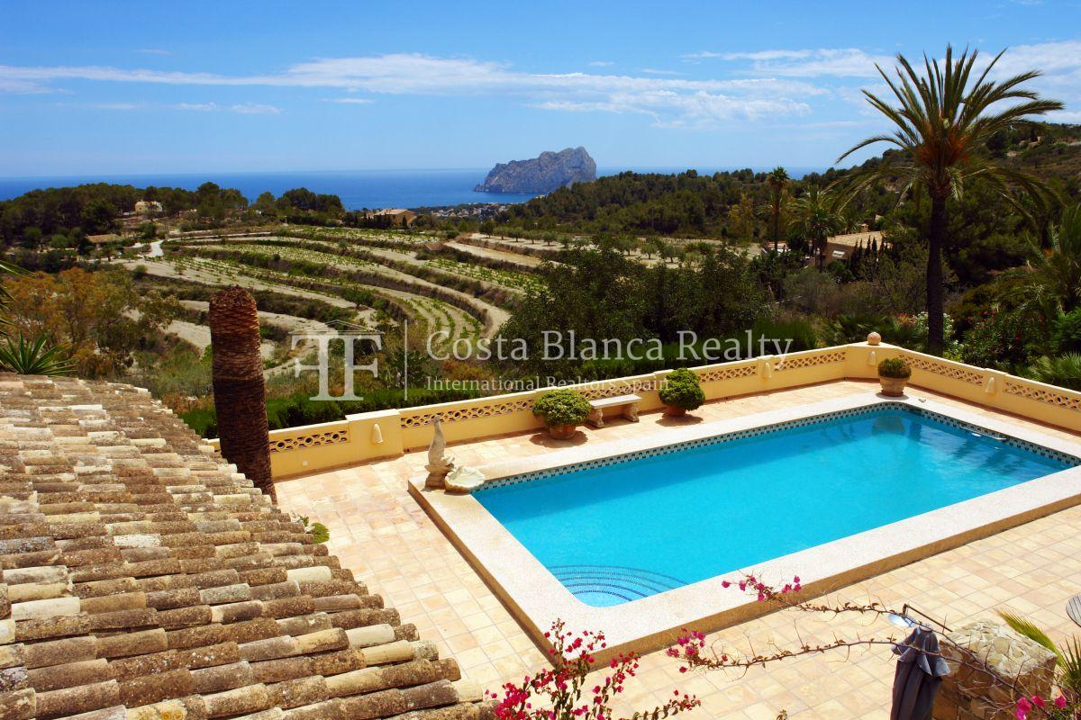 Great modern finca with panoramic sea views in Benissa - 3 - CHFi501