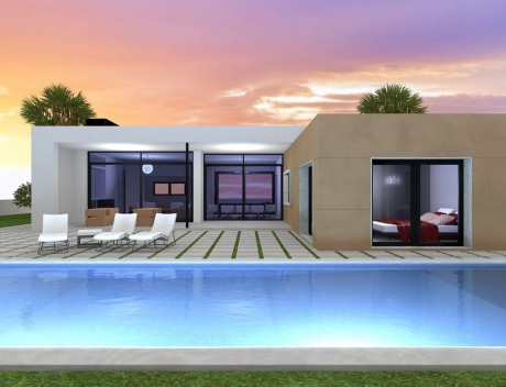 New construction villa in a beautiful area of Moraira (under construction)