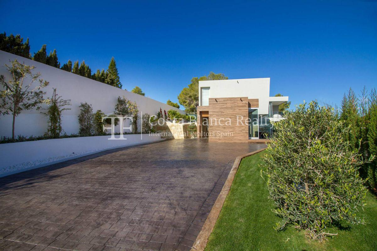 Modern villa in Benissa with sea views for sale, new building - 15 - CHFi788