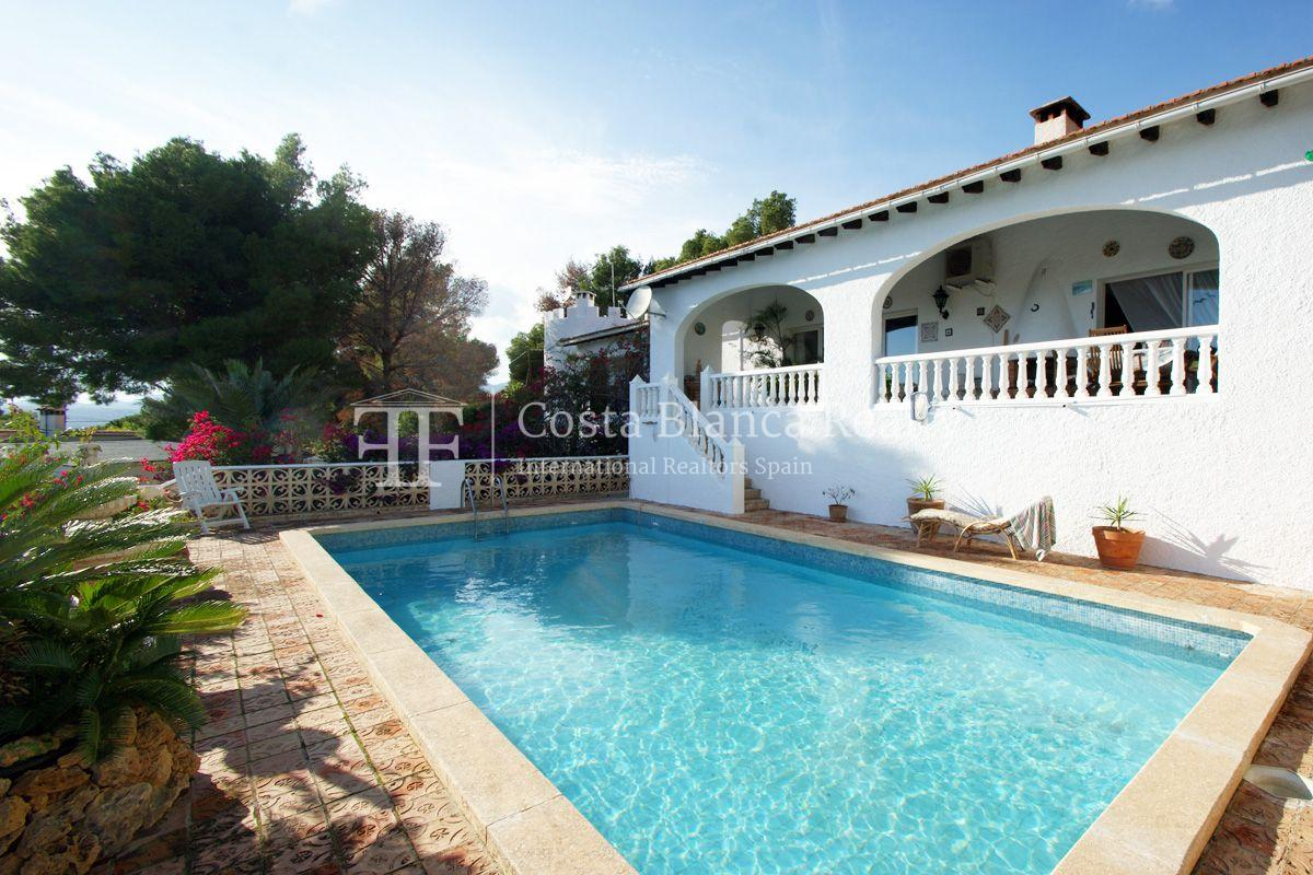 Large house with great sea views and 5000m2 of land, Altea, Alhama Springs - 2 - CHFi509