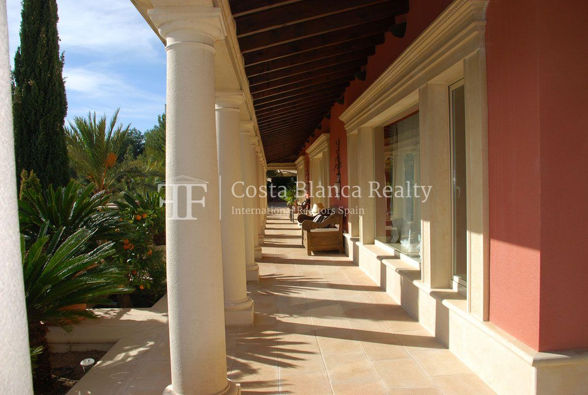 Beautiful villa in Roman style in Altea for sale, Sierra de Altea Golf - 28 - JOFi234