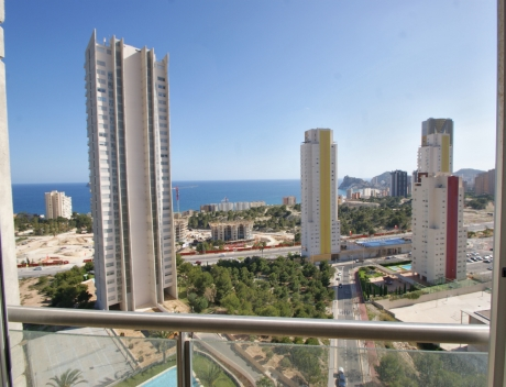 CHFi816: Bright 2 Bedrooms Apartment for sale in Benidorm - Main