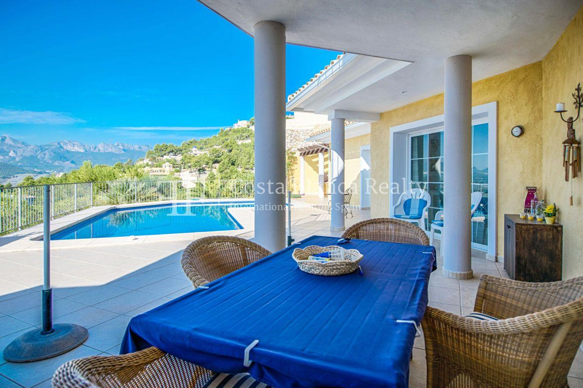 Great villa with panoramic sea views on Altea, Santa Clara - 14 - CHFi785