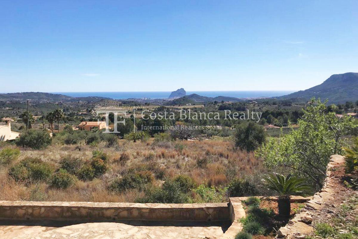 Wonderful finca with great panoramic sea views in Benissa - 2 - CHFi865