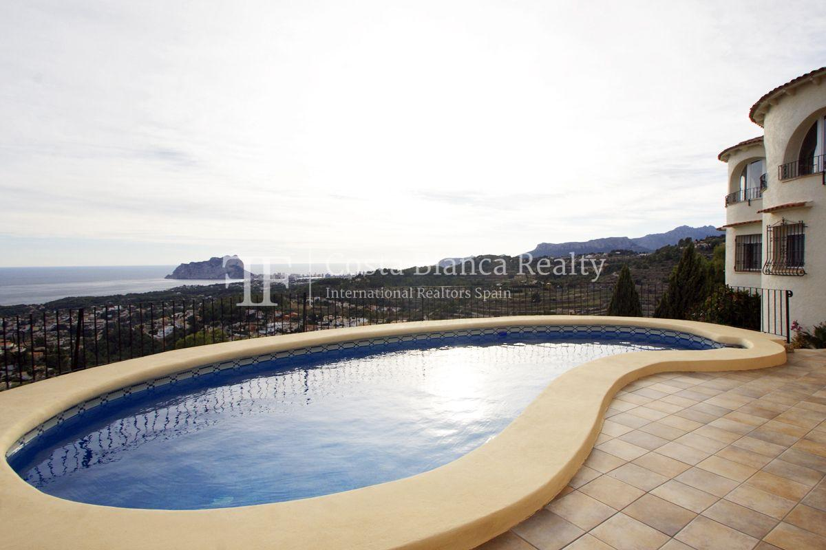 Villa for sale in Benissa with panoramic sea views on a large plot - 35 - CHFi655