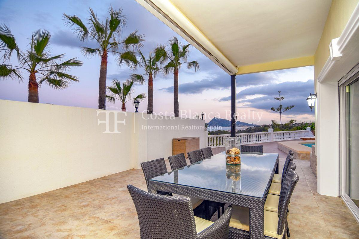 Fantastic villa with panoramic sea views in Altea - 40 - CHFi798