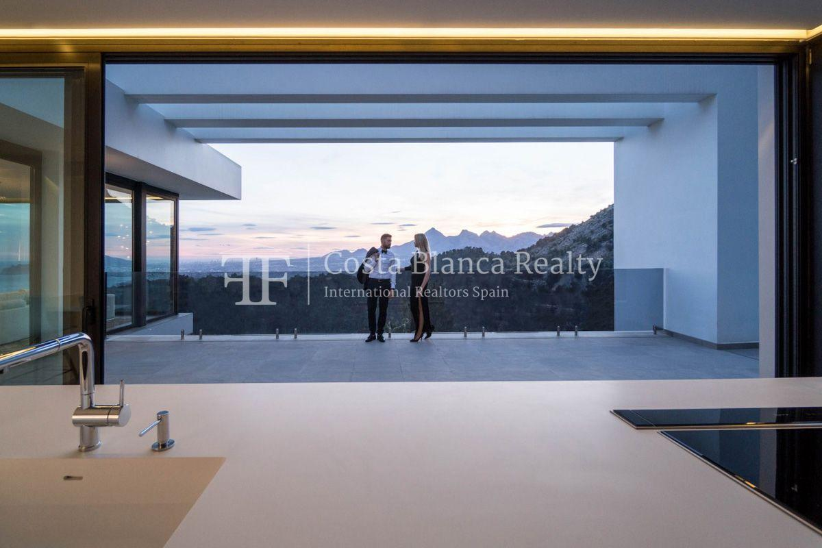 New luxury villa with exceptional sea view, Altea Hills - 19 - CHFi472