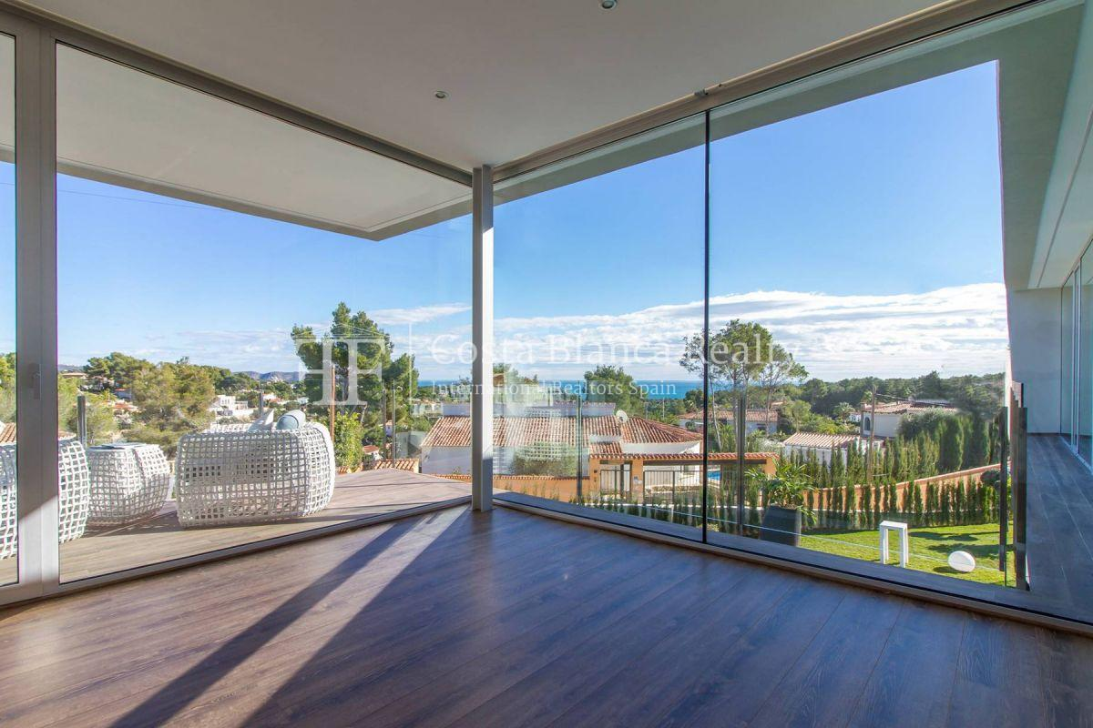 Modern villa in Benissa with sea views for sale, new building - 3 - CHFi788