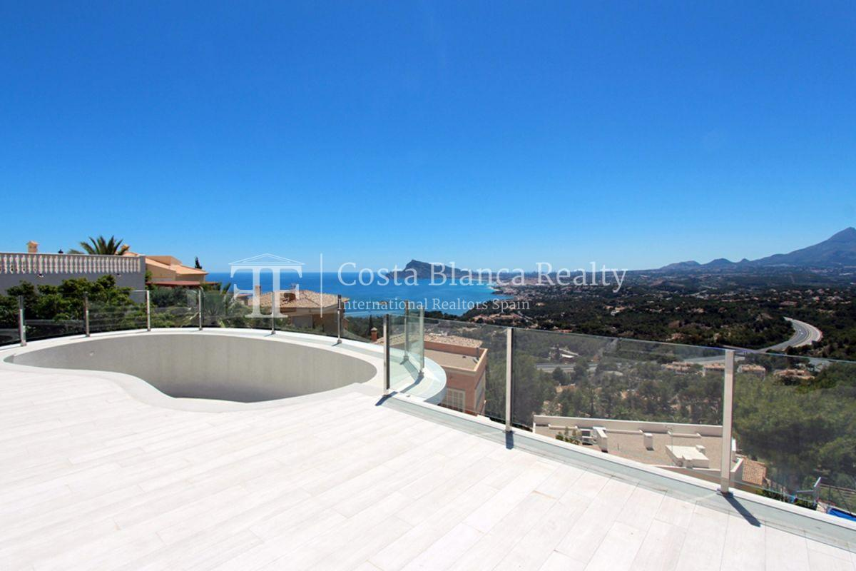 Modern villa with great views for sale in Altea Hills - 3 - CHFi820