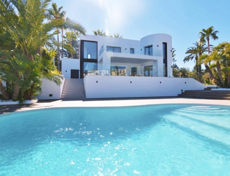 CHFi724: Modern First Line Villa Benissa, beach Fustera New Built - Main