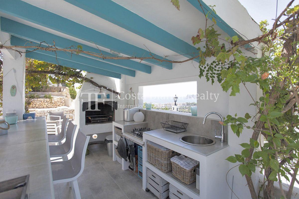 ++SOLD BY COSTABLANCA-REALTY.COM++ Villa for sale in San Chuchim in Ibiza style with panoramic sea views, Altea / Old Town - 42 - CHFi704