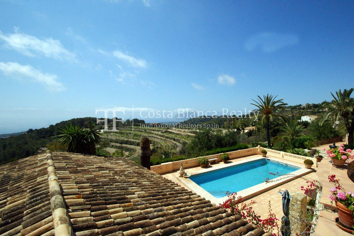 Great modern finca with panoramic sea views in Benissa - 2 - CHFi501