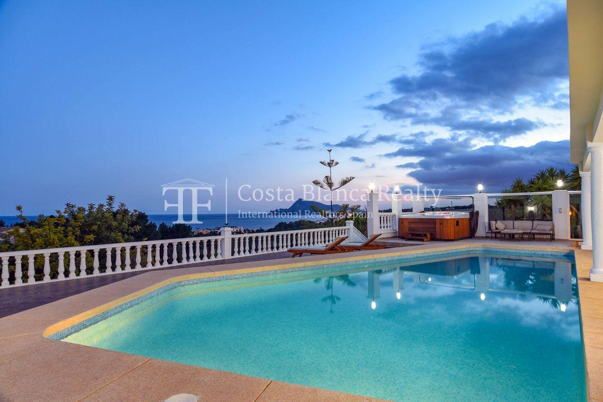 Fantastic villa with panoramic sea views in Altea - 8 - CHFi798