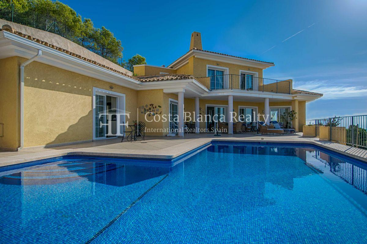 Great villa with panoramic sea views on Altea, Santa Clara - 13 - CHFi785