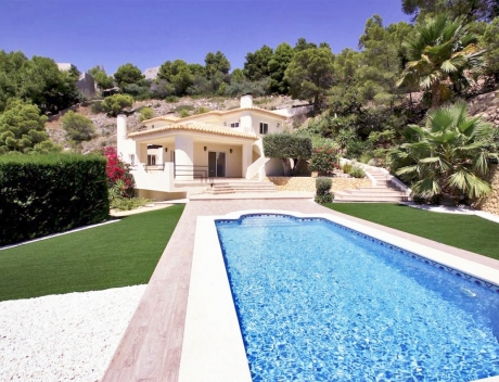 CHFi729: Renovated house in Altea with panoramic sea views for sale - Main